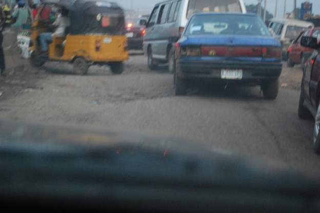 Bad Road By Daniel and Bankole's Bridge