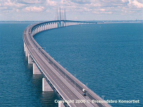 Malmo-Copenhagen Bridge