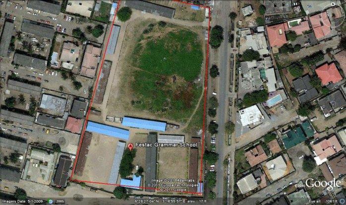 Aerial View of Festac Grammar School