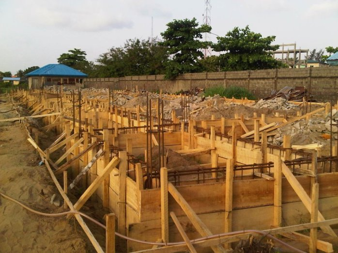 Foundation of Storey Building of 12 Classrooms