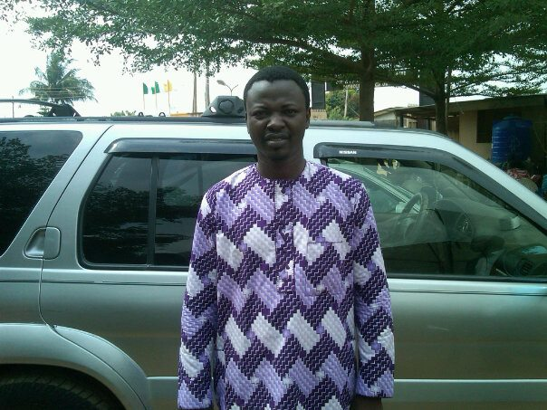 My late friend Kokobili Edward, killed by the driver of the Taraba State Governor