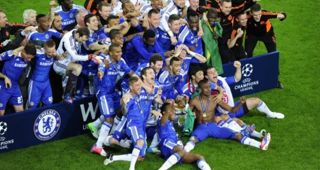 CHELSEA, CHAMPIONS OF EUROPE 2012