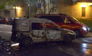 Burnt cars in Husby, Stockholm (picture from www.thelocal.se)