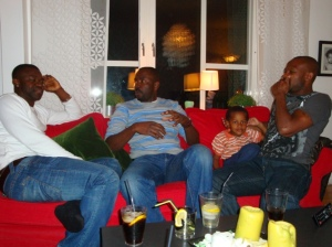Okechukwu Okafor, Adeola Aderounmu and Samuel Ayorinde