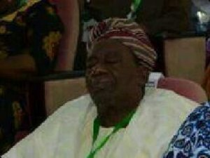 richard akinjide, one of the NPN members who destroyed and ruined Nigeria at a national conference in 2014