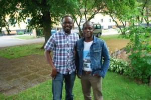 Adeola Aderounmu and Tayo Adegoke