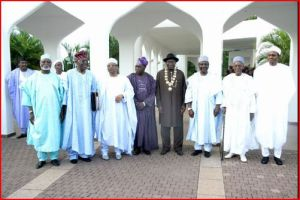 "[Abdulsalami, Shonekan, Babangida, Obasanjo, Jonathan, Gowon, Shagari and Buhari. Under these men, their executive councils, their ministers, several state governors and other accomplices that sometimes include their wives, Nigeria has lost over 600 billion dollars. They should be made accountable. Nigeria needs to make examples of the rule of law for real, and the ""heads"" are usually where to start so that other parts can straighten out. Never is it too late!]"