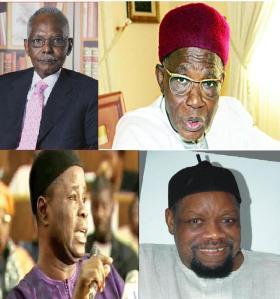 Riliwan Lukman, Umaru Dikko, Abdulkareen Adisa and Odumegwu Ojukwu