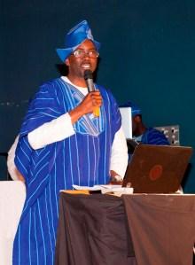 Adeola Aderounmu, Welcome Address