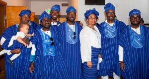 Some of the executive members of Yoruba Union, Stockholm