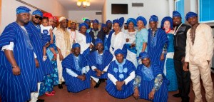 Yoruba Union members and special guests at Yoruba Day 2015