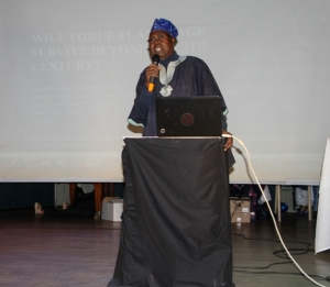 Dr. Adewale Olu Adeniran, Executive Director Center for Black Cultural and International Understanding, Nigeria