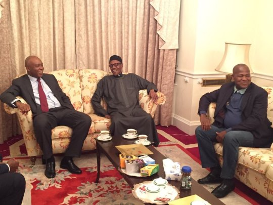 saraki-buhari-dogara-in-london-feb2017